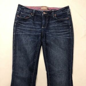 Paige Petite Size 29 Stretch Boot Cut Blue Jeans